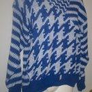 *~NWT Vintage 'Alexander's Blue & White sweater sz M