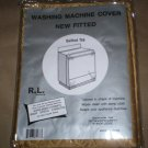 *~NIP Washing Machine Cover-New Fitted Quilted~Brown