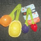 *~NWT MasterClass Petro Collection Ceramic Measuring Spoon set