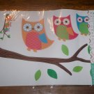 *~New Stick N Style Wall Graphics (Large Wall Stickers) Owls
