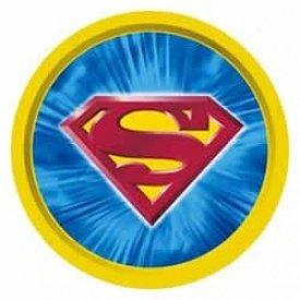 *~New Hallmark DC Comics Warner Brothers Superman Tray