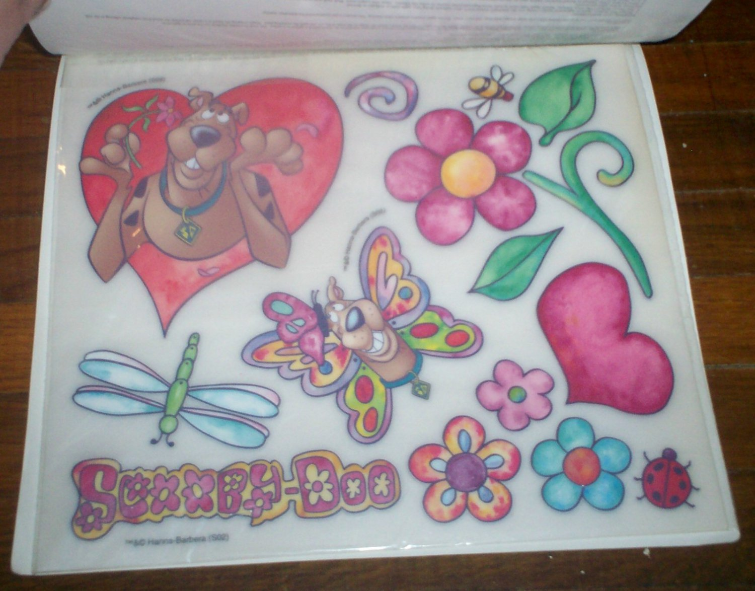 Instant Stencils For Walls : New imperial scooby doo instant stencils