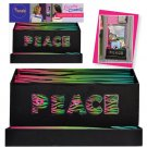 "*~New Rondo ""PEACE"" Locker Combos Magnetic Locker Organizer, Great for Home too"