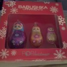 *~New Babushka Glass Christmas Ornaments