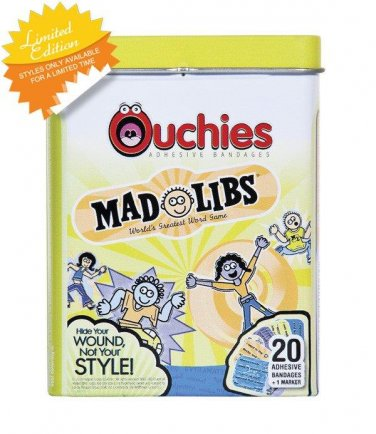 *~New Ouchies Mad Libs Bandages/Band-Aids
