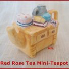 Canadian Red Rose Tea Mini-Teapot  --Yellow Cupboard