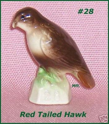Red Tailed Hawk Canadian Tenderleaf Tea Bird  Number  28
