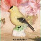Goldfinch #18    Canadian Tenderleaf Tea Bird