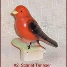 Canadian Tenderleaf Tea Bird # 2  Scarlet Tanager  Scarce