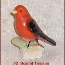 Canadian Tenderleaf Tea Bird # 2  Scarlet Tanager  Scarce