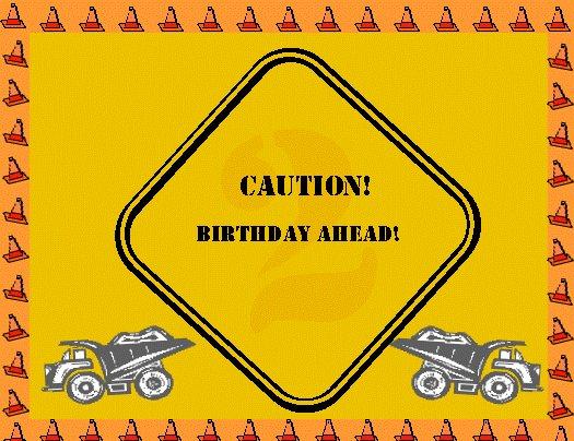 Caution! Customizable Invite