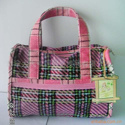 Bags made from fashion materials