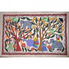Mithila hand painting from Nepal