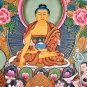 Thangka Painting Gautama Buddha Life Story from Nepal