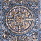 Mandala Thangka (Thanka) Tibetan Art Painting from Nepal