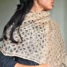 Hand woven Crutchet Scarves Shawl made of Nettle( Allo) from Nepal