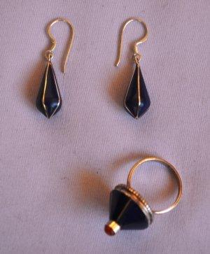 Dark blue set