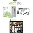 "Xbox 360 ""Premium Gold Pack"" Video Game System and Grand Theft Auto IV (Xbox 360)"