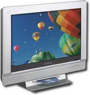 "Magnavox 20MF251W 20"" Flat-Panel LCD HDTV Monitor TV/DVD Combo"