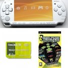 "Sony PSP ""Slim Giga Bundle"" - 21 Games and 1GB Memory Card (White)"