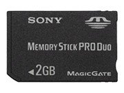 Sony - Flash memory card - 2 GB - MS PRO DUO