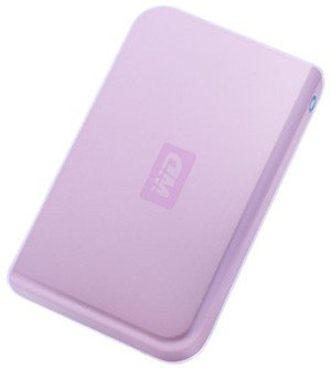 Western Digital Passport WD-250GB External Hard Drive - Pink