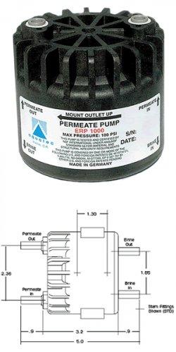 Booster Pump Aquatec ERP1000 Permeate Pump No Electric