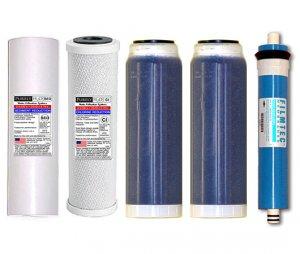 Optima Vision Dual DI Filter Set W/Membrane