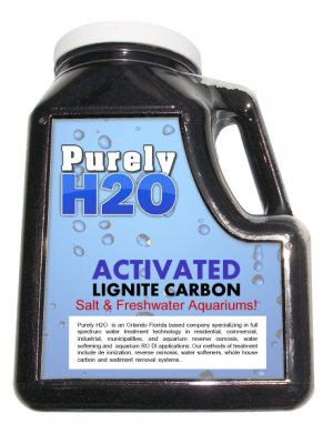 Activated Lignite Carbon Premium Grade 4LBs