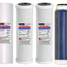 RODI Water Filter Set Reverse Osmosis 2 Carbon + DI