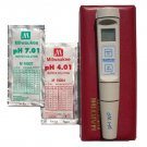 PH Meter/Temperature Digital Water Test w/Case