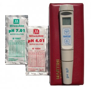 PH Meter/Temperature Digital Water Test w/Case