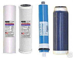 RODI Filter Replace Set Sed/Carb/DI And 100 Membrane