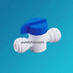 Quick Connect Fitting Ball Valve 3/8x3/8
