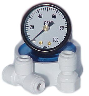 Pressure gauge add on