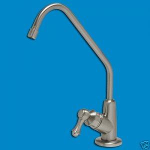 RO Faucet Brushed Nickel Satin Design