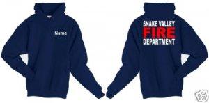 Personalized Firefighter T-shirt Fire Department Uniforms -  hoodies