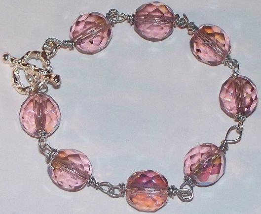 Orchid Crystal Bracelet 20% OFF