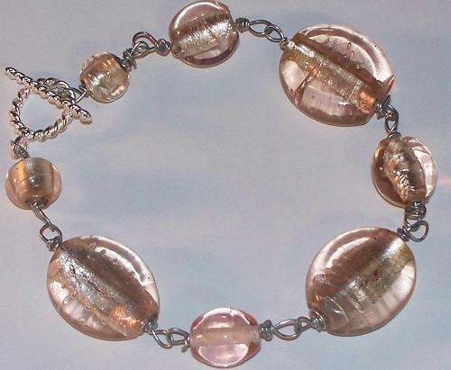 Pink Champagne Bracelet 20% OFF