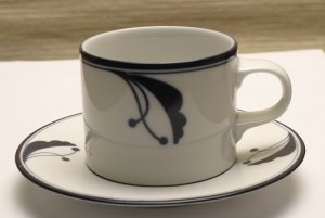 Dansk Bayberry Cup and Saucer (Portugal)