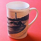 Otagiri LIGHTHOUSE Mug Walt Cude Japan Signed