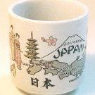 Japan Map Vase / Planter Cachepot