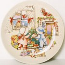 Watkins CHRISTMAS IS LOVE Collector Dessert Plate 1991
