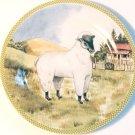 American Atelier OL' McDonald Salad / Dessert Plate - Sheep