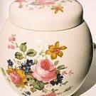 Sadler Floral Ginger Jar & Lid England
