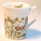 Otagiri Ivory Stone BUTTERFLY Coffee Mug Japan