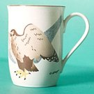 Otagiri FALCON Mug Raptor Wendy Morgan Signed Birds