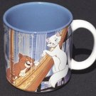 Disney ARISTOCATS Coffee Mug Cats Japan