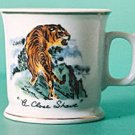 Japan Tiger Shaving Mug A Close Shave