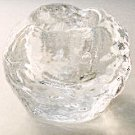 Kosta Boda SNOWBALL Candle Holder Glass Votive Sweden